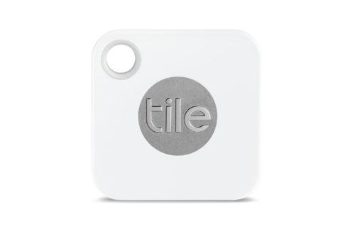 Den lille Tile-brikken kan festes på en nøkkelring, en veske eller annet du er redd for å miste.