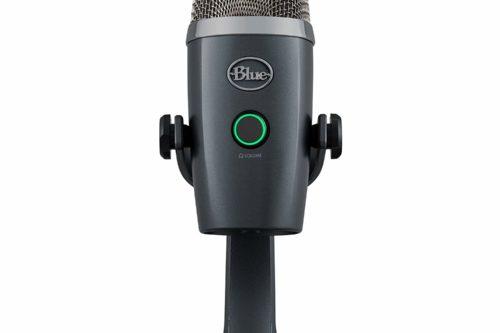 Mikrofonen er 21 centimeter høy.