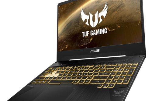 ASUS TUF Gaming FX505 er svært robust konstruert.